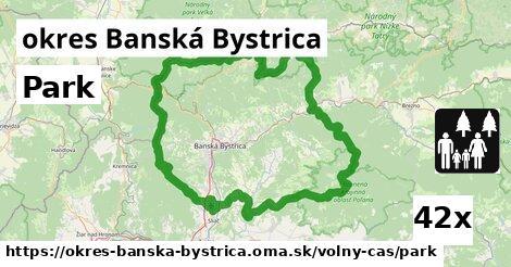 park v okres Banská Bystrica