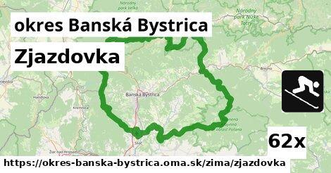 ilustračný obrázok k Zjazdovka, okres Banská Bystrica