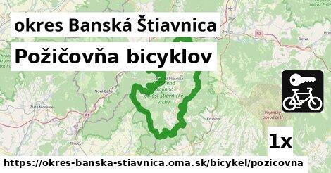ilustračný obrázok k Požičovňa bicyklov, okres Banská Štiavnica