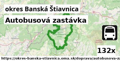 ilustračný obrázok k Autobusová zastávka, okres Banská Štiavnica