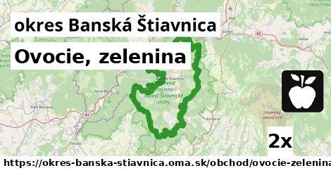 ilustračný obrázok k Ovocie, zelenina, okres Banská Štiavnica