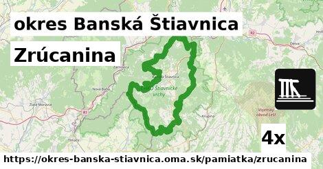 ilustračný obrázok k Zrúcanina, okres Banská Štiavnica