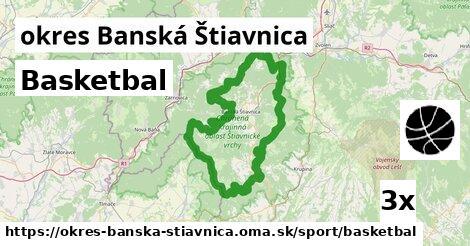 ilustračný obrázok k Basketbal, okres Banská Štiavnica