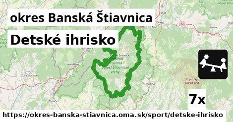 ilustračný obrázok k Detské ihrisko, okres Banská Štiavnica