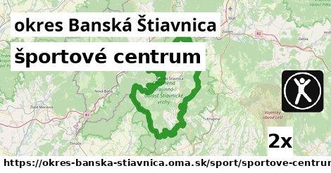 ilustračný obrázok k športové centrum, okres Banská Štiavnica