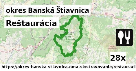 ilustračný obrázok k Reštaurácia, okres Banská Štiavnica