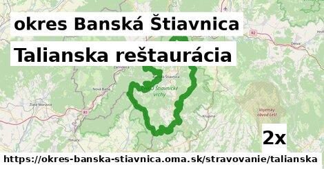 ilustračný obrázok k Talianska reštaurácia, okres Banská Štiavnica