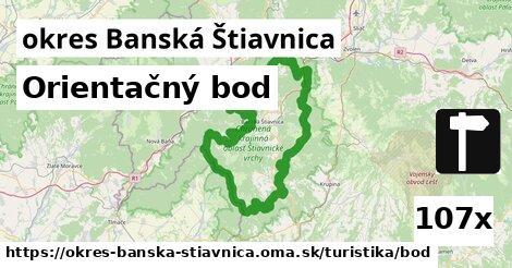 ilustračný obrázok k Orientačný bod, okres Banská Štiavnica