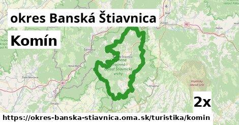 ilustračný obrázok k Komín, okres Banská Štiavnica