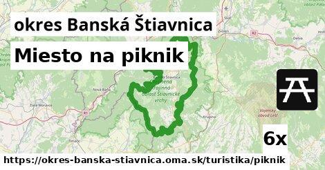 ilustračný obrázok k Miesto na piknik, okres Banská Štiavnica