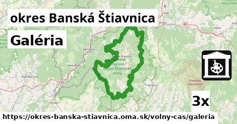 ilustračný obrázok k Galéria, okres Banská Štiavnica