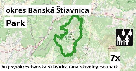 ilustračný obrázok k Park, okres Banská Štiavnica