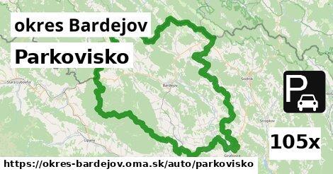 ilustračný obrázok k Parkovisko, okres Bardejov