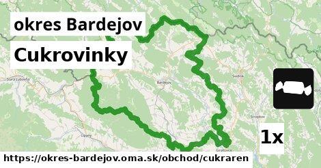 ilustračný obrázok k Cukrovinky, okres Bardejov
