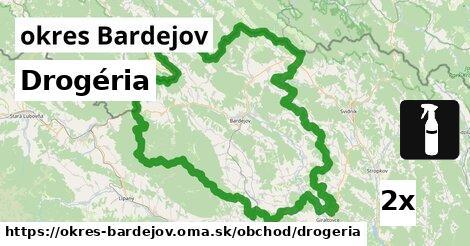 ilustračný obrázok k Drogéria, okres Bardejov