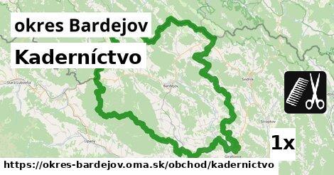 ilustračný obrázok k Kaderníctvo, okres Bardejov