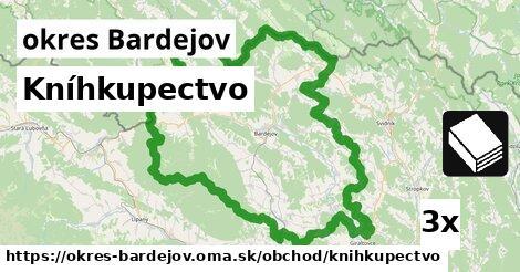 ilustračný obrázok k Kníhkupectvo, okres Bardejov