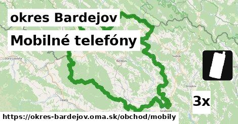 ilustračný obrázok k Mobilné telefóny, okres Bardejov