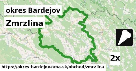 ilustračný obrázok k Zmrzlina, okres Bardejov