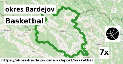 ilustračný obrázok k Basketbal, okres Bardejov