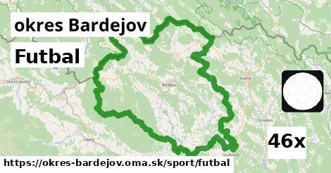 ilustračný obrázok k Futbal, okres Bardejov