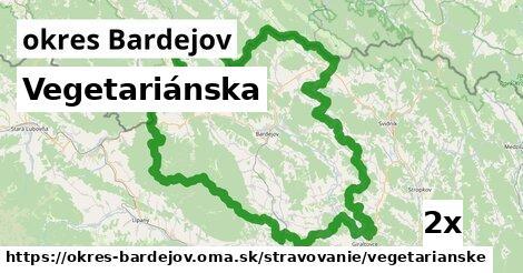 ilustračný obrázok k Vegetariánska, okres Bardejov