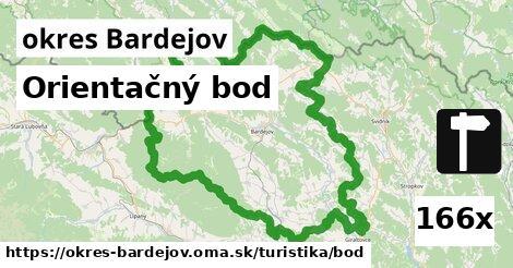 ilustračný obrázok k Orientačný bod, okres Bardejov