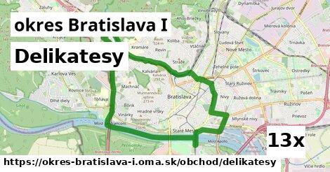 delikatesy v okres Bratislava I