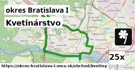 kvetinárstvo v okres Bratislava I