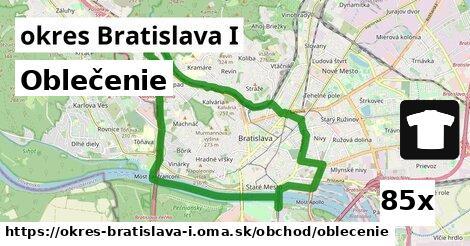 oblečenie v okres Bratislava I