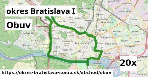 obuv v okres Bratislava I