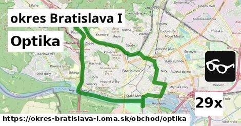 optika v okres Bratislava I