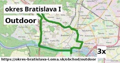 outdoor v okres Bratislava I