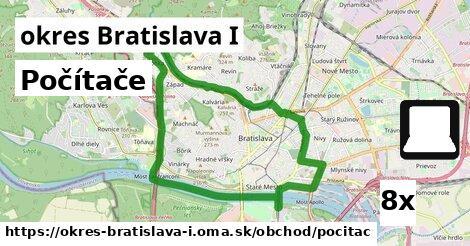 počítače v okres Bratislava I