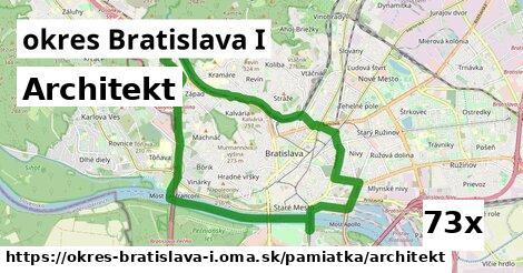 architekt v okres Bratislava I