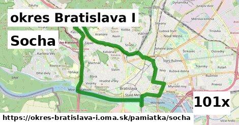 socha v okres Bratislava I