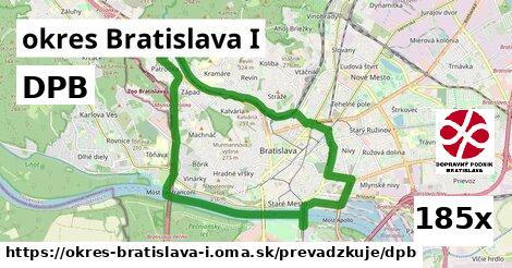 ilustračný obrázok k DPB, okres Bratislava I