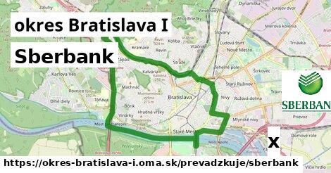 Sberbank v okres Bratislava I