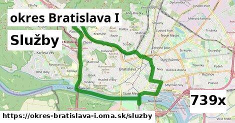 služby v okres Bratislava I