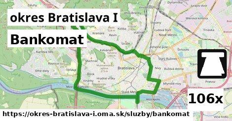 bankomat v okres Bratislava I