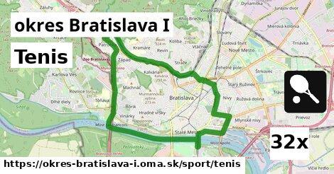 tenis v okres Bratislava I