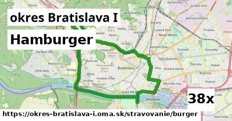 hamburger v okres Bratislava I