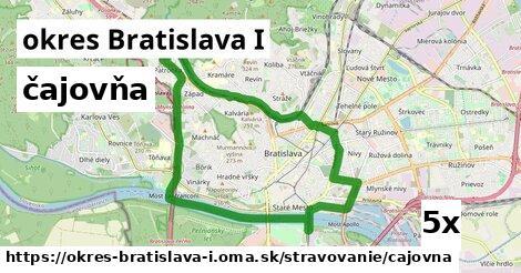 čajovňa v okres Bratislava I