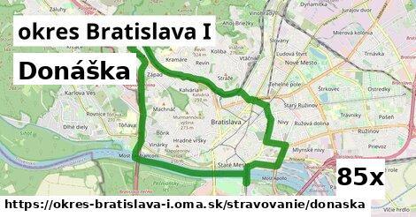 donáška v okres Bratislava I