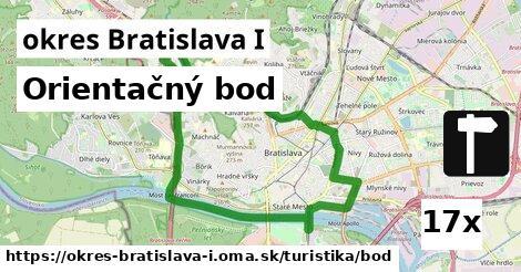 orientačný bod v okres Bratislava I