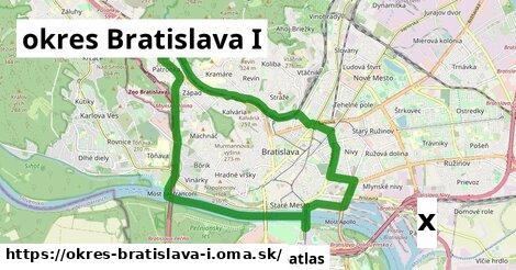 strom v okres Bratislava I