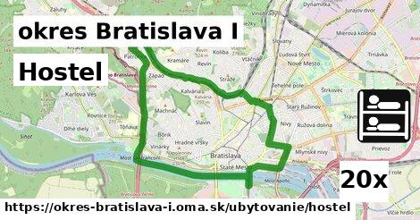 ilustračný obrázok k Hostel, okres Bratislava I