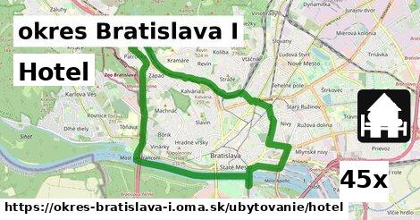 ilustračný obrázok k Hotel, okres Bratislava I