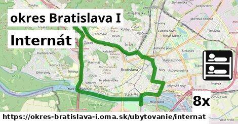 ilustračný obrázok k Internát, okres Bratislava I