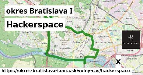 ilustračný obrázok k Hackerspace, okres Bratislava I